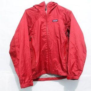 Patagonia  Jacket Women Red Nylon Windbreaker